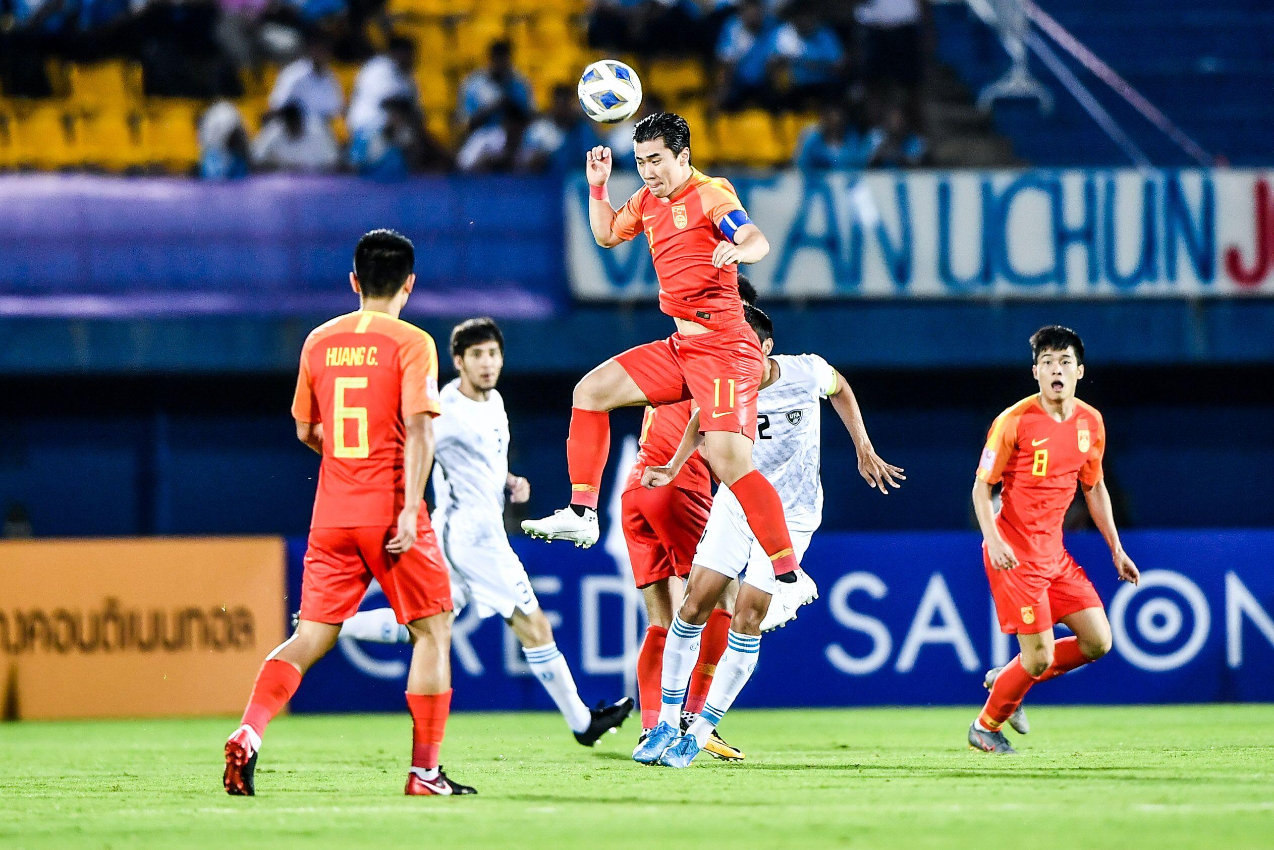奥预赛:魏震朱辰杰送点,国奥0-2负乌兹提前无缘奥运