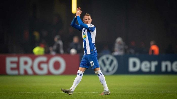 官方:柏林赫塔中场杜达租借加盟诺维奇至赛季末