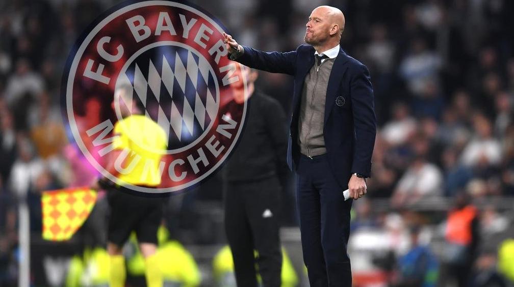 名记:滕哈格希望在今夏执教拜仁慕尼黑