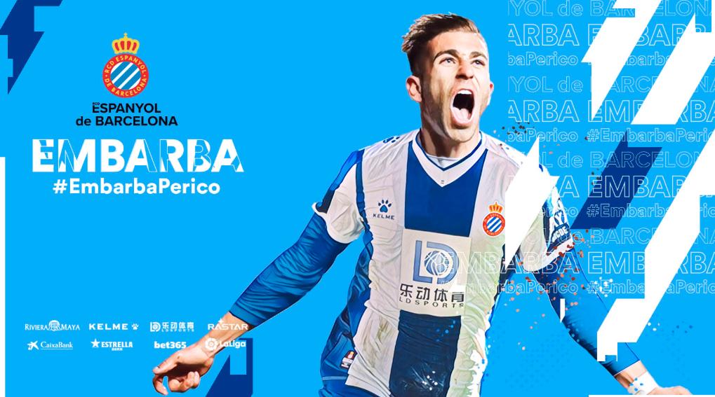 官方:西班牙人1000万欧签下西乙巴列卡诺右边锋