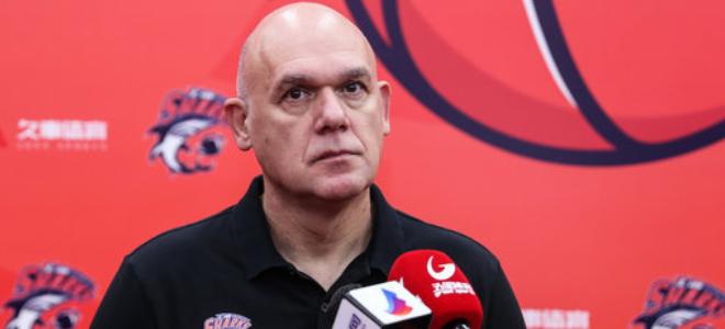上海主帅内文-斯帕夏谈新赛季目标:带领球队重返季后赛