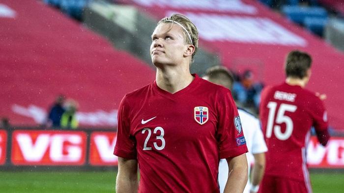 力压卢卡库,哈兰德当选欧国联小组赛最佳射手