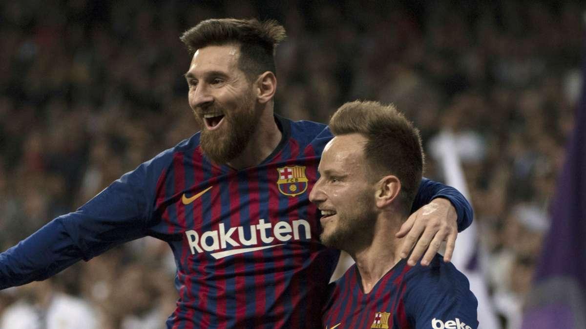拉基蒂奇:和梅西一起踢球是梦幻般的,感谢他为我做的一切