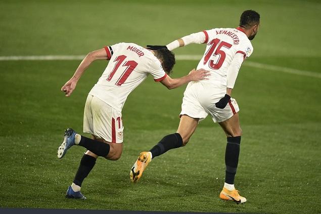 西甲:奥坎波斯助攻恩-尼西里破门,韦斯卡0-1塞维利亚