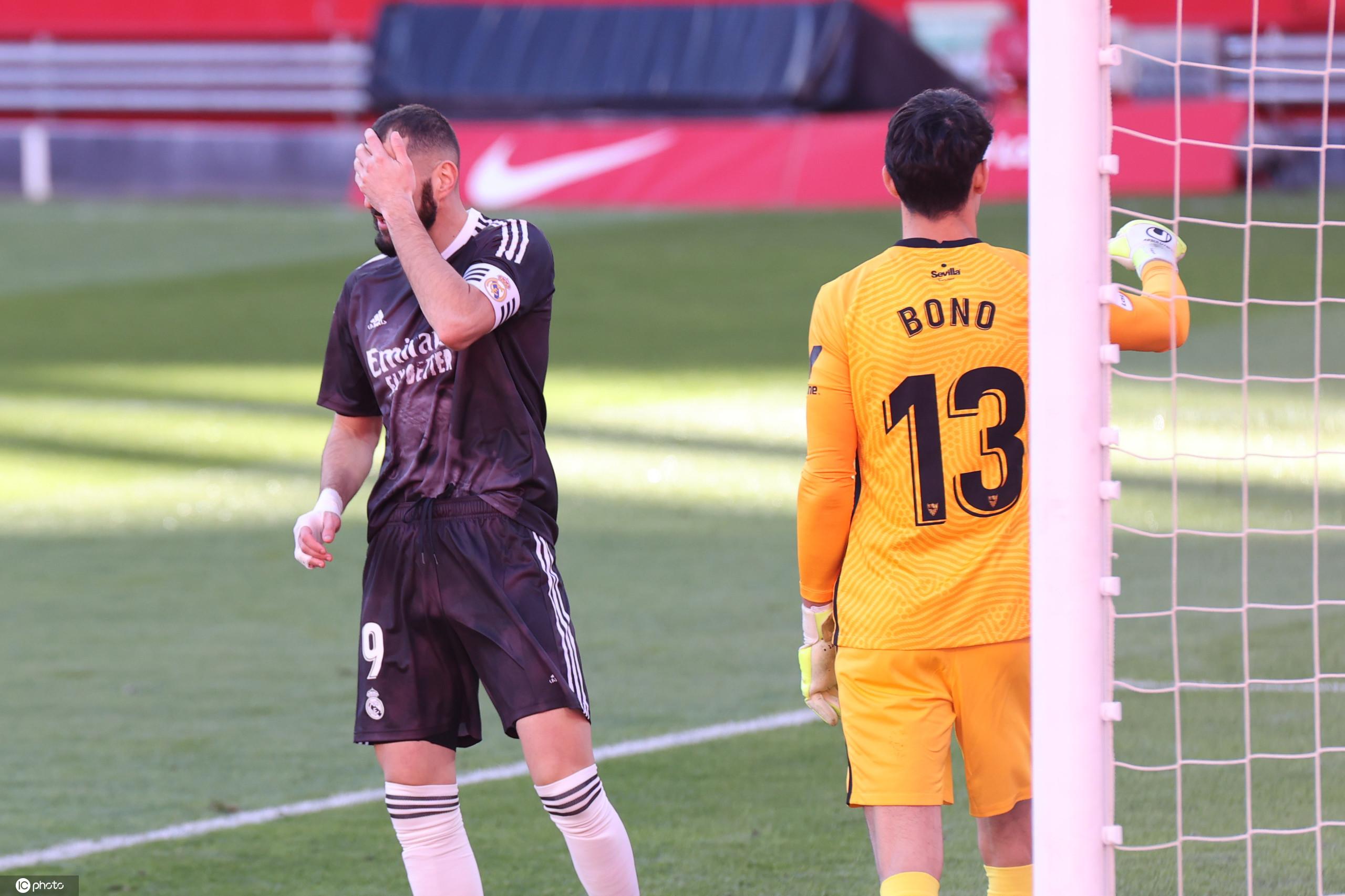 半场:维尼修斯本泽马制造威胁,皇马客场0-0塞维利亚