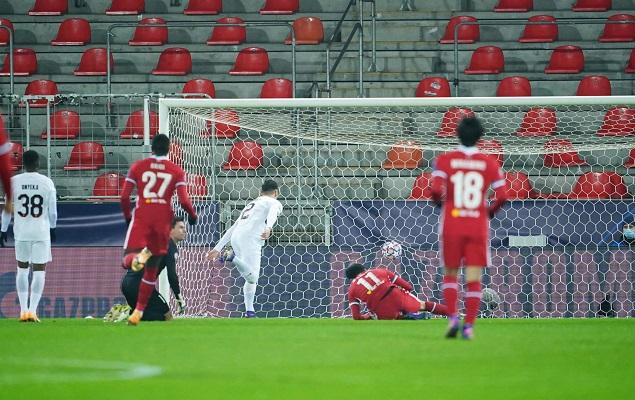 欧冠:萨拉赫单刀破门,利物浦客场1-1中日德兰