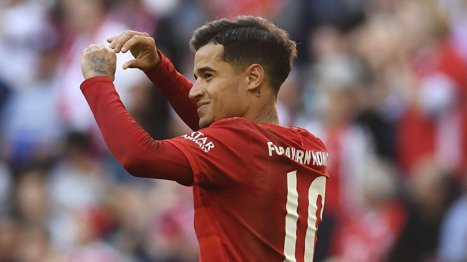 库蒂尼奥:离开利物浦不会回头;拜仁本赛季能赢得一切