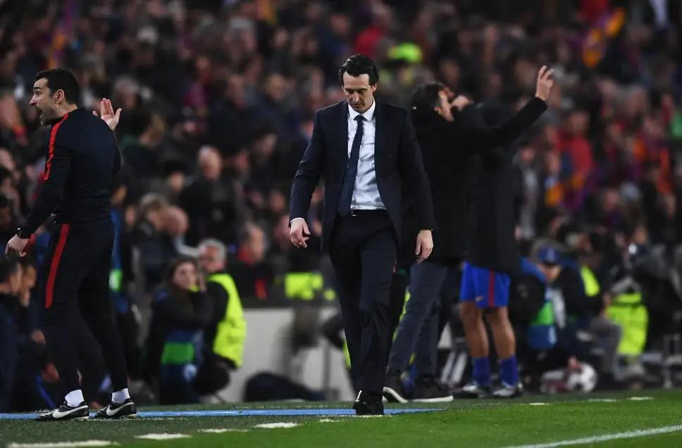 埃梅里:6-1逆转踢的是两场比赛,一场对巴萨一场对裁判
