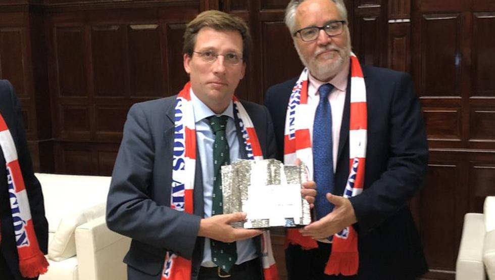 马德里市长开玩笑:欧冠就应该授予战胜卫冕冠军的球队