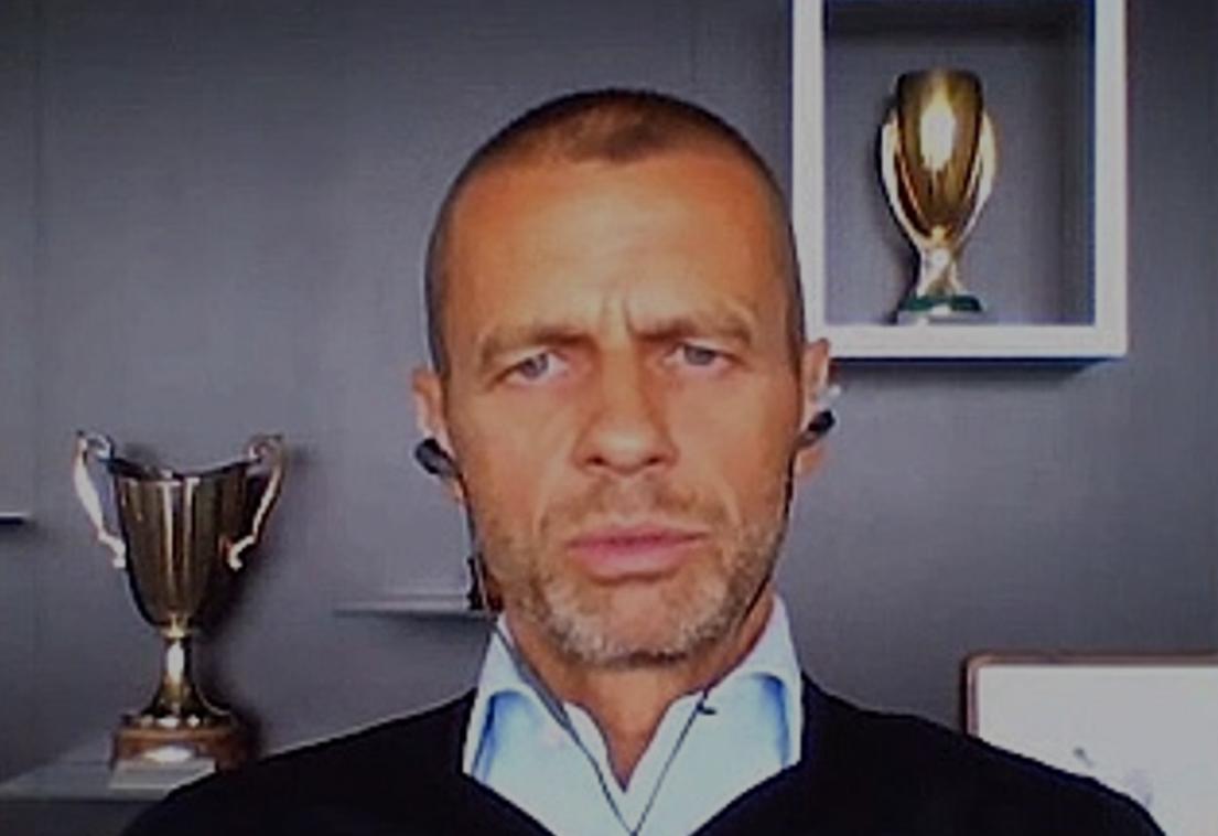 欧足联主席:对于如何踢完欧战,我们已经有了具体的计划