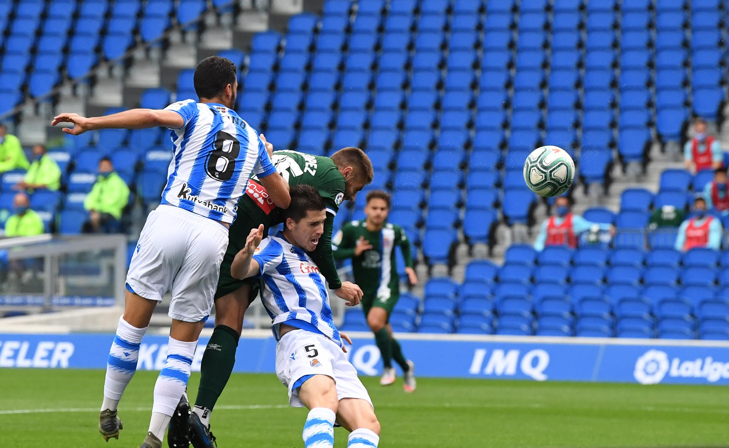 西人中卫洛佩斯本赛季西甲进4球,与武磊并列队内第一