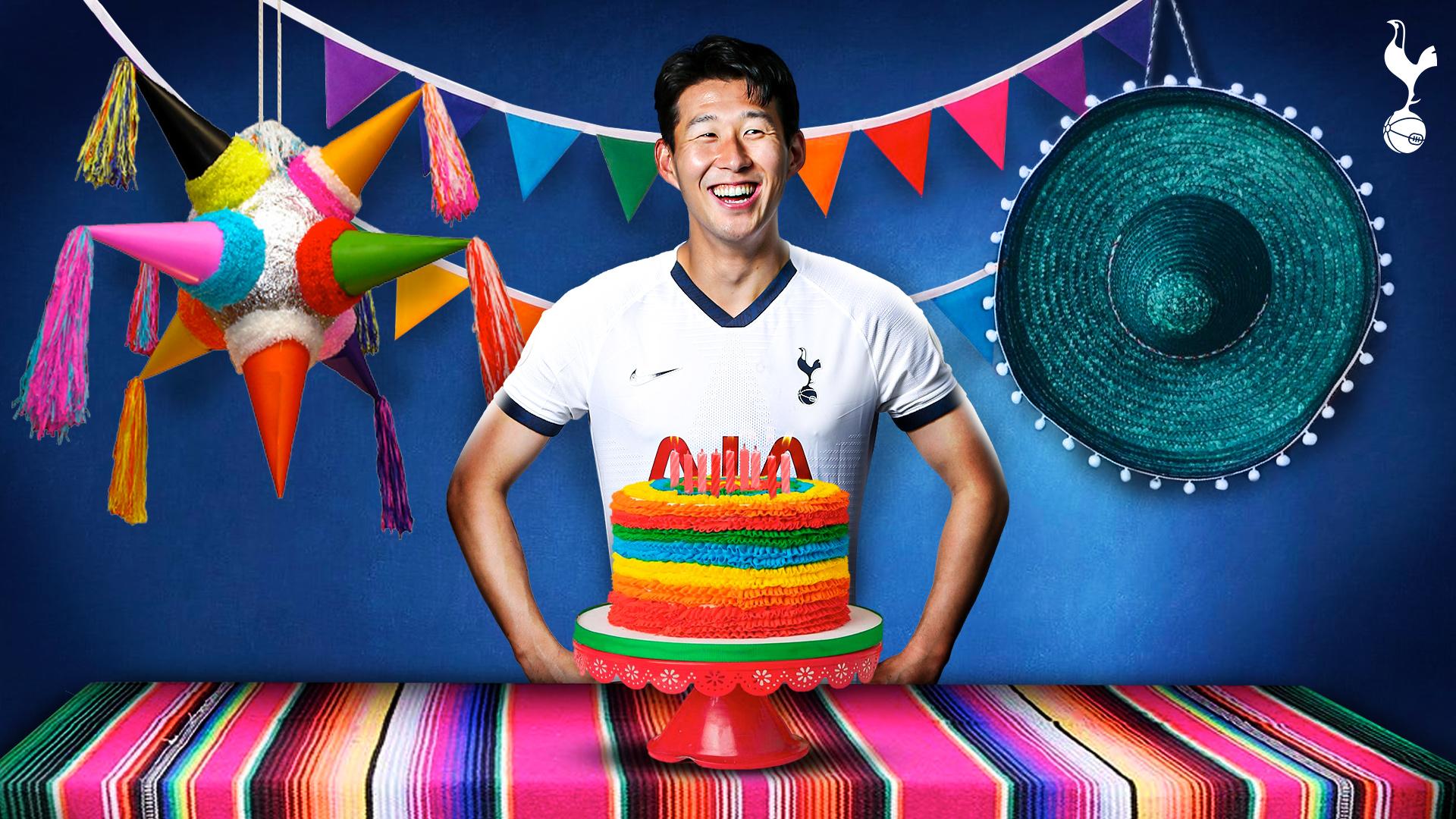 官方玩梗!热刺发创意海报:墨西哥球星孙兴慜生日快乐