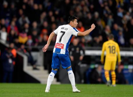 武磊:留洋一年半给自己打8分,有信心在下赛季重回西甲