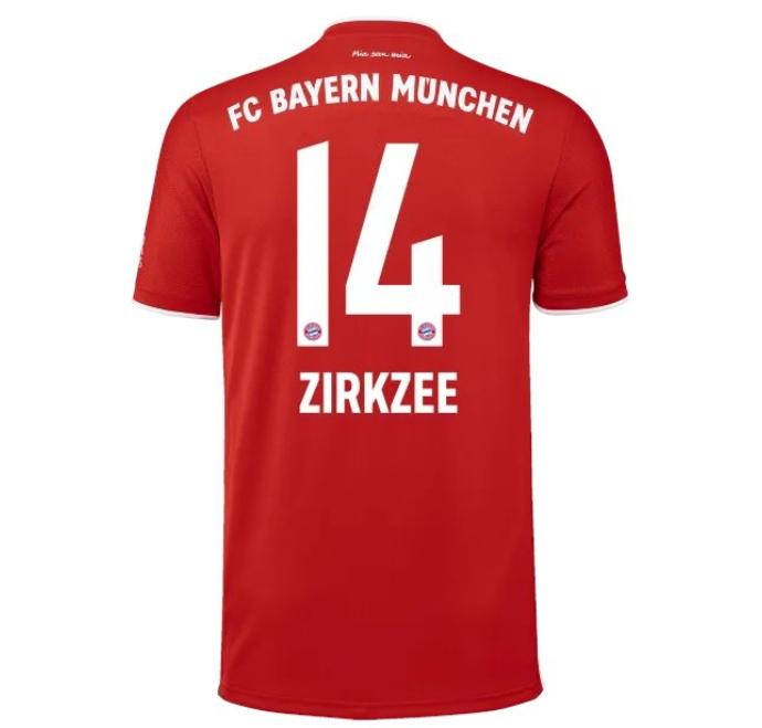 拜仁官方公布新赛季球衣号:努贝尔35,齐尔克泽改穿14