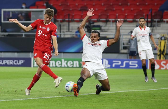 强劲对手,塞维利亚是半年来首支常规时间踢平拜仁的球队