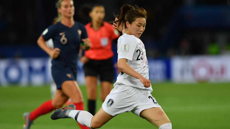 韩国女足姜彩璘谈对阵中国队:这是我们进入奥运的好机会