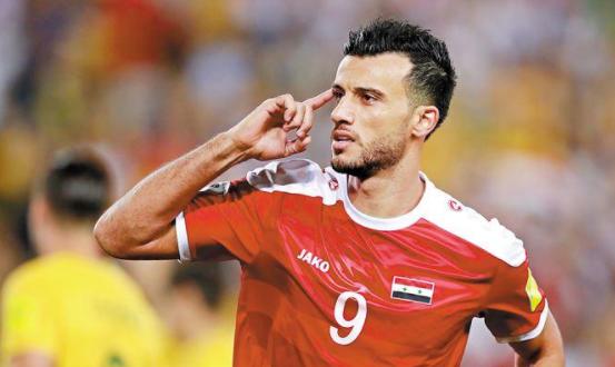 新快报:叙利亚全队敲定来华签证,头号球星索马随队出征